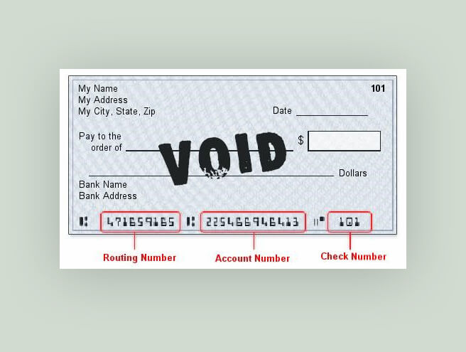 Reasons to Void A Check
